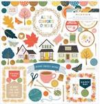 Bungalow Lane Chipboard Stickers - Paige Evans - PRE ORDER