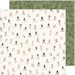 Inhale Exhale Paper - Peaceful Heart - Jen Hadfield