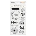 Peaceful Heart Acrylic Stamp Set - Jen Hadfield - PRE ORDER