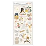 Peaceful Heart Cardstock Sticker Sheet - Jen Hadfield - PRE ORDER