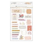 Peaceful Heart Sticker Book - Jen Hadfield - PRE ORDER