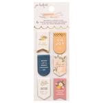 Peaceful Heart Magnetic Bookmarks - Jen Hadfield