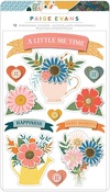 Bungalow Lane Dimensional Layered Stickers - Paige Evans