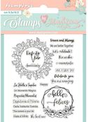 Quotes Stamps - Celebration - Stamperia - PRE ORDER