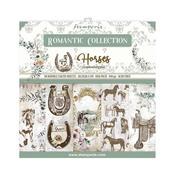 Romantic Horses 8x8 Paper Pad - Stamperia - PRE ORDER