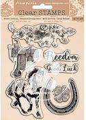 Romantic Horses Stamps - Stamperia - PRE ORDER