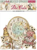 Alice Through The Looking Glass Assorted Die Cuts - Stamperia - PRE ORDER