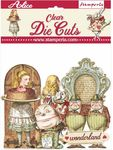 Alice Through The Looking Glass Clear Die-Cuts - Stamperia - PRE ORDER