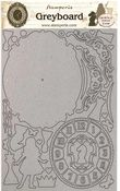Clock Greyboard Cut Outs - Alice Through The Looking Glass - Stamperia - PRE ORDER