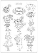 Drink Me A4 Soft Mould - Alice in Wonderland - Stamperia