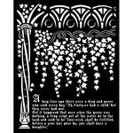 Ivy & History Stencil - Sleeping Beauty - Stamperia