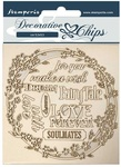 Garland Love Decorative Chips - Sleeping Beauty - Stamperia