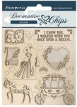 Coach Decorative Chips - Sleeping Beauty - Stamperia