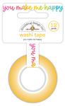 You Make Me Happy Washi Tape - Cute & Crafty - Doodlebug
