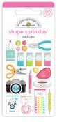 Cute & Crafty Shape Sprinkles - Cute & Crafty - Doodlebug - PRE ORDER