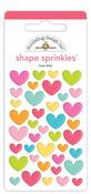 Love This! Shape Sprinkles - Cute & Crafty - Doodlebug - PRE ORDER