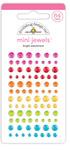 Bright Assortment Mini Jewels - Cute & Crafty - Doodlebug