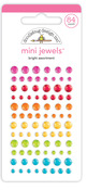Bright Assortment Mini Jewels - Cute & Crafty - Doodlebug - PRE ORDER
