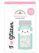 Glitter Jar Shaker-Pops - Cute & Crafty - Doodlebug