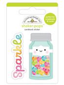 Sequin Jar Shaker-Pops - Cute & Crafty - Doodlebug