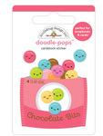 Chocolate Bits Doodle-Pops - Cute & Crafty - Doodlebug