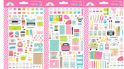 Cute & Crafty Mini Icons Stickers - Doodlebug - PRE ORDER