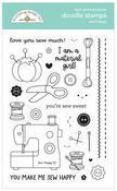 Sew Happy Doodle Stamps - Cute & Crafty - Doodlebug - PRE ORDER