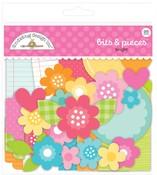 Cute & Crafty Bright Bits & Pieces - Doodlebug - PRE ORDER