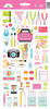 Cute & Crafty Icons Stickers - Doodlebug