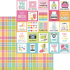 Perfectly Plaid Paper - Cute & Crafty - Doodlebug