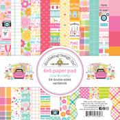 Cute & Crafty 6x6 Paper Pad - Doodlebug - PRE ORDER