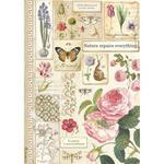 Botanic Rice Paper - Stamperia - PRE ORDER