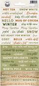 Cosy Winter Cardstock Stickers #1 - P13