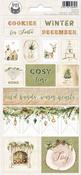 Cosy Winter Cardstock Stickers #2 - P13