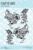 Flight of Fancy Clear Stamps - Fairy Whispers - Blue Fern Studios