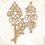 Keys to Liora Chipboard Pieces - Fairy Whisper - Blue Fern Studios - PRE ORDER