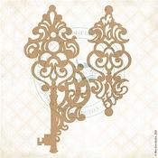 Keys to Liora Chipboard Pieces - Fairy Whisper - Blue Fern Studios