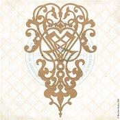Liorian Crest Chipboard Pieces - Fairy Whisper - Blue Fern Studios