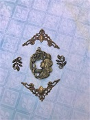 Milliflora Charms - Fairy Whisper - Blue Fern Studios