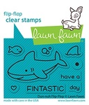 Duh-nuh Flip Flop Clear Stamps - Lawn Fawn