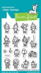 Tiny Birthday Friends Clear Stamps - Lawn Fawn