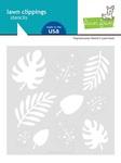 Tropical Leaves Stencil - Lawn Fawn