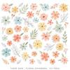 These Days Floral Ephemera - Cocoa Vanilla Studio