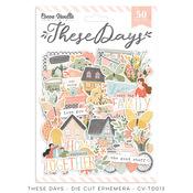 These Days Die Cut Ephemera - Cocoa Vanilla Studio