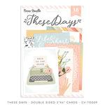 These Days Pocket Cards - Cocoa Vanilla Studio