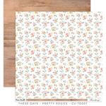 Pretty Posies Paper - These Days - Cocoa Vanilla Studio