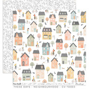 Neighborhood Paper - These Days - Cocoa Vanilla Studio