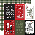 4X6 Journaling Cards Paper - Salutations Christmas - Echo Park - PRE ORDER