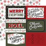 6X4 Journaling Cards Paper - Salutations Christmas - Echo Park