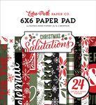 Salutations Christmas 6x6 Paper Pad - Echo Park - PRE ORDER